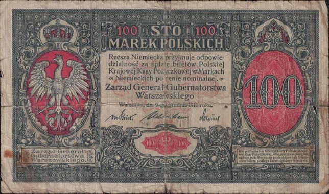 100 Marek Polskich 1916