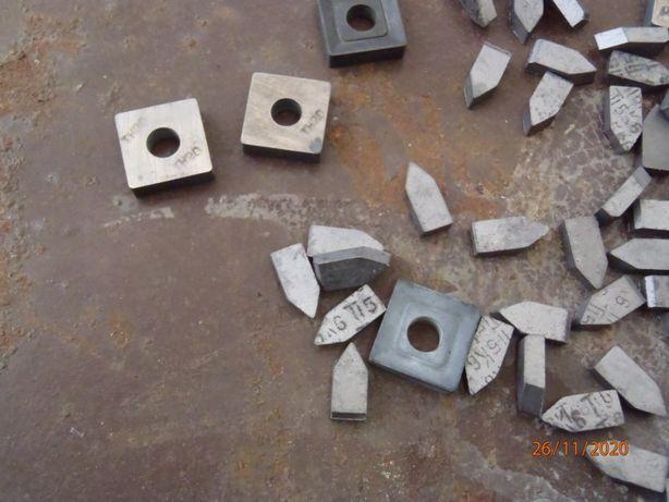 Напайки титано-вольфрамовые для токарных резцов производство СССР.
