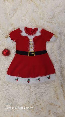 Продам новогоднее платье на девочку