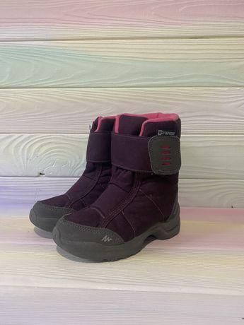 Зимові термо-чобітки на дівчинку