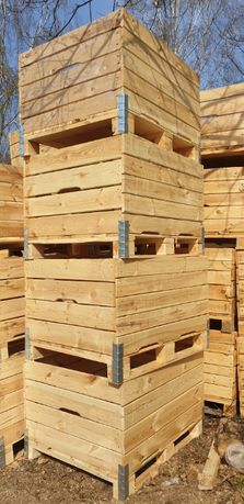 Skrzynio palety drewniane