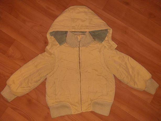 Куртка-жилетка 2в1 демисезонная 4года