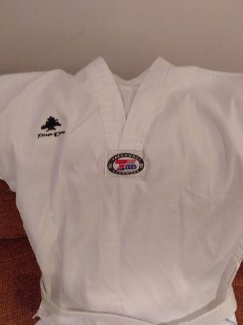 Equipamento taekwondo criança