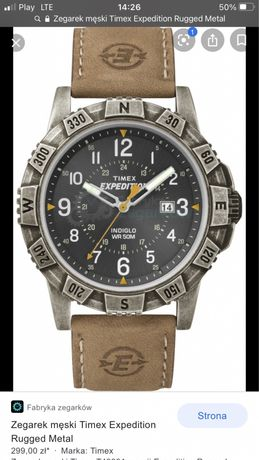 Zegarek męski Timex Expedition Rugged Metal