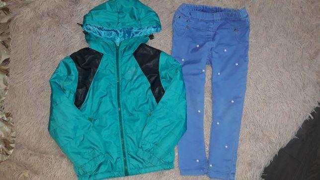 курточка плюс джинсы на весну