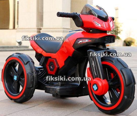 Детский мотоцикл M 3927-3 красный электромобиль, Дитячий електромобiль