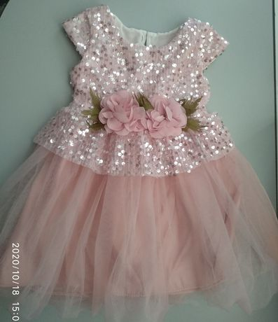 Платье нарядное в идеальном состоянии