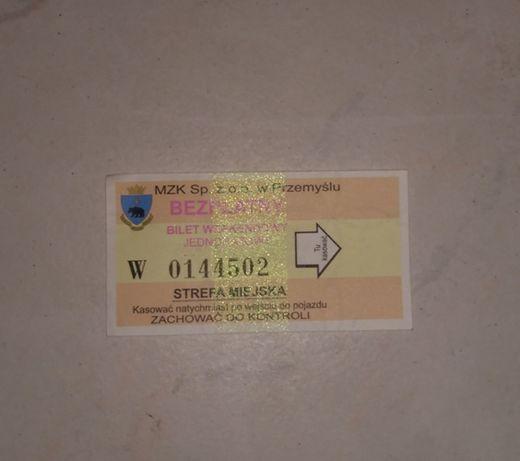 Bilet autobusowy specjalny MZK Przemyśl