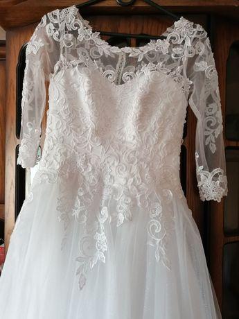 Sprzedam suknie ślubną małe 36