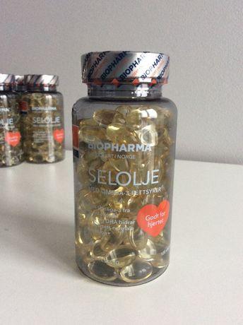 Biopharma Selolje/ Тюлений жир/ рыбий жир/ Норвегия/ Омега 3