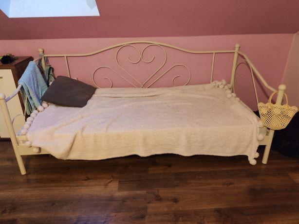 Metalowe łóżko 200x90