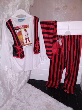 Новогодний костюм наряд пирата разбойника на 3-5 лет, до 104 см