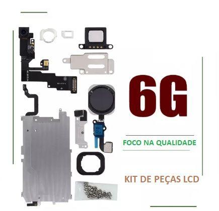 Conjunto / Kit de peças do ecrã / LCD para Iphone 6