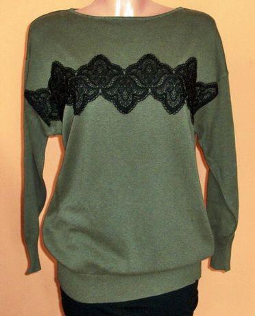 Sweter z aplikacją marki Dorothy Perkins r. 38