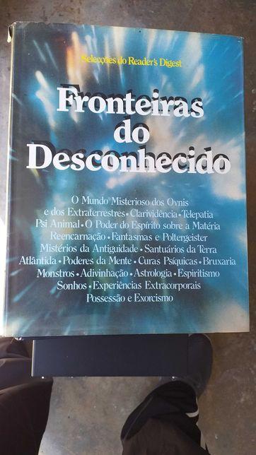 Livro Fronteiras do desconhecido