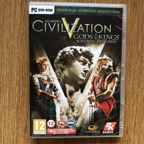 Sid Meier's Civilization V Gods & Kings polska wersja + fizyczna mapa
