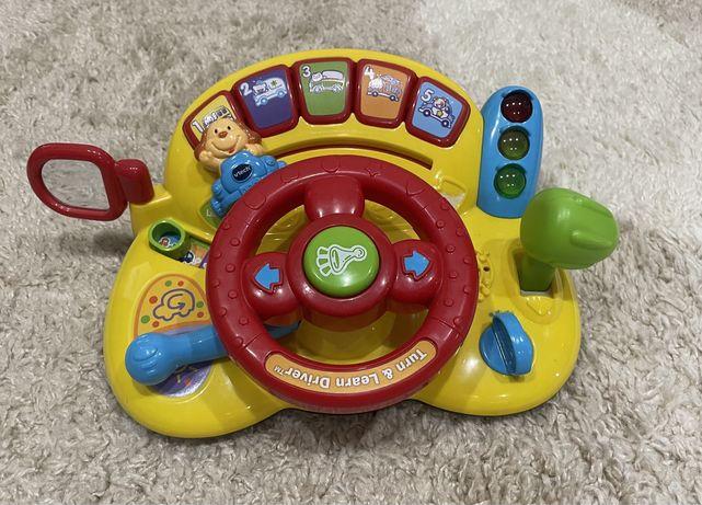 Развивающая музыкальная игрушка Руль от VTech