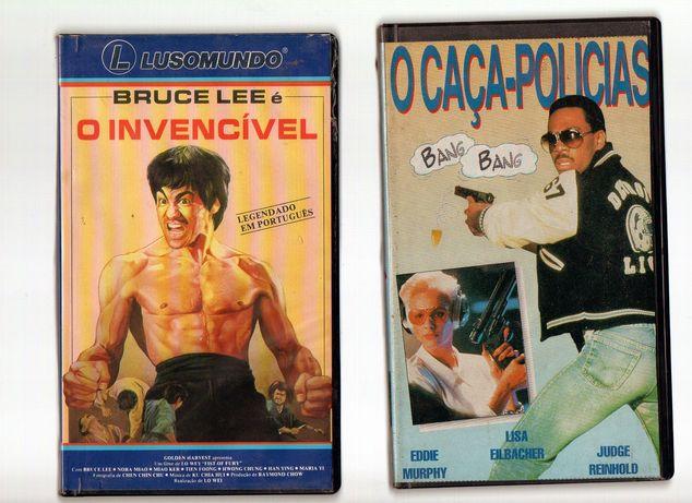 Colecção filmes vintage VHS Acção ORIGINAIS