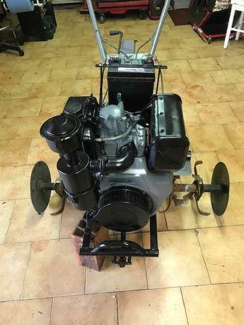 Moto enxada gasoil 10cv 418cc