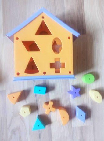 Сортер домик  развивающие игрушки