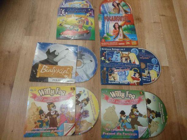 Bajki , filmy i seriale edukacyjne dla dzieci 30 płyt VCD
