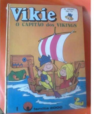 Livro da coleção Vikie anos 70