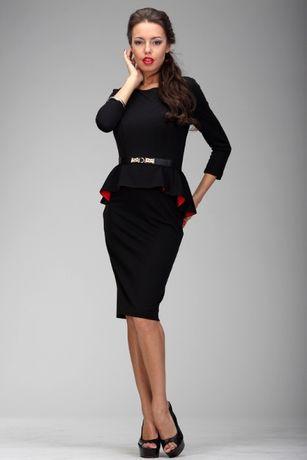 платье женское купить баска атлас плаття 42-50Р