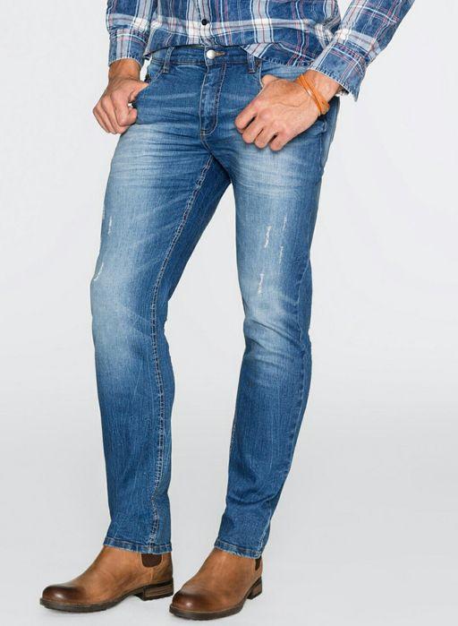 Nowe męskie spodnie Bonprix rozm 46 W31 Kłobuck - image 1