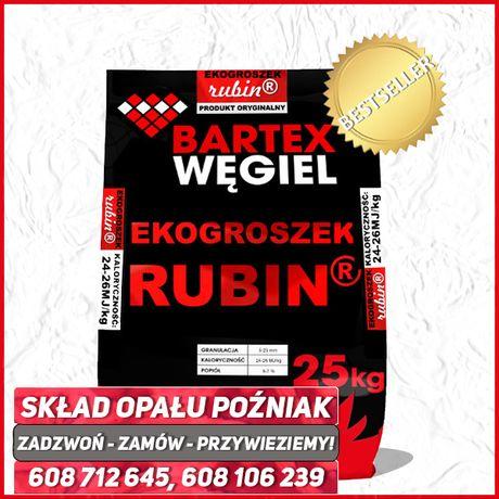 Ekogroszek Bartex Polski Węgiel Kamienny Workowany Wysokokaloryczny