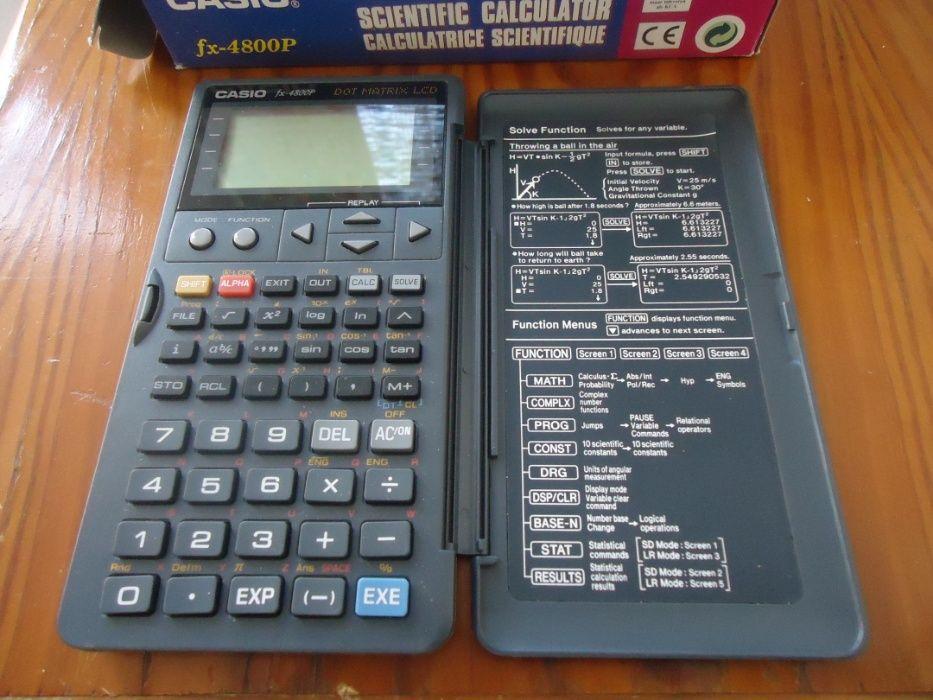 calculadora casio fx 4800 p