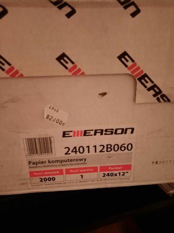 Papier komputerowy Emerson 240X12''