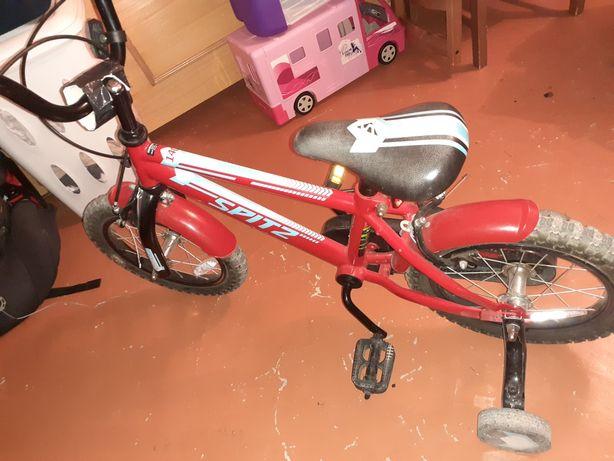 Bicicleta sem as rodas