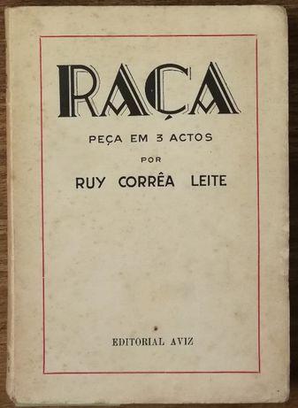 raça, peça em 3 actos por ruy corrêa leite, editorial aviz