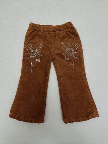 Теплые штаны 1-2года