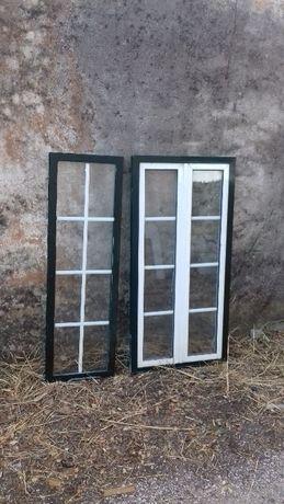 Janelas de aluminio lacado e vidro duplo