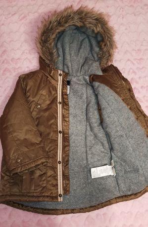 Детская куртка (77-82 см) (осень/теплая зима)