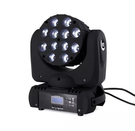 Luz dmx RGBW 12x12