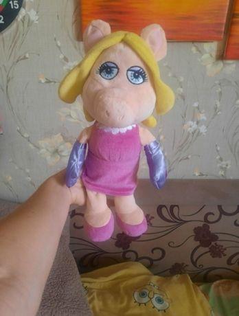 свинка кукла мягкая