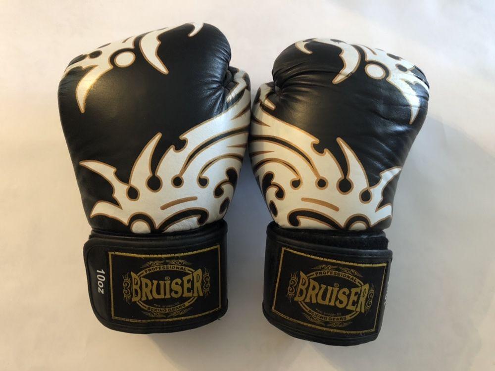 Luvas Bruiser Kickboxing Boxe 10oz Usadas em muito bom estado !
