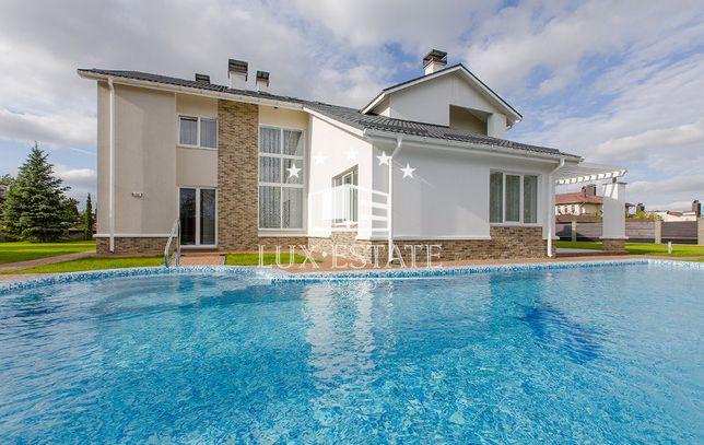 Аренда элитного дома с бассейном в Конча Заспа КГ Днепровая Волна