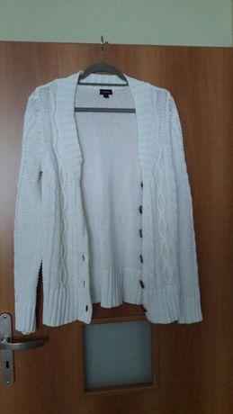 Modny kardigan sweter M/L
