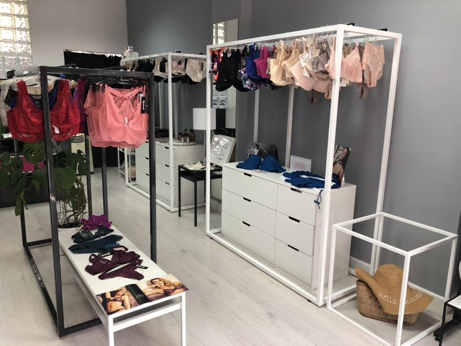 Stojak na ubrania odzież sklep metal panele sklepowe ekspozycja Ząbki - image 1