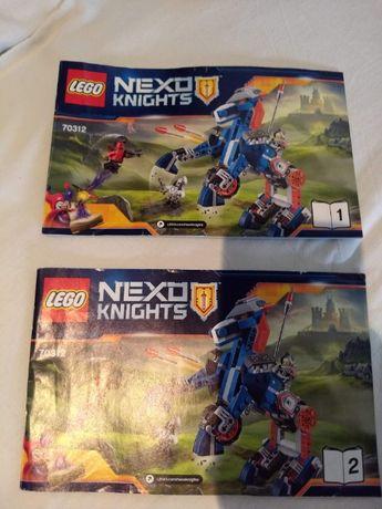 LEGO Nexo Knights 70312 komplet instrukcja pudełko