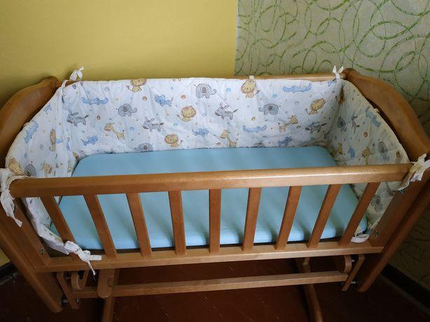 Кроватка-колыбель Mothercare + бортики в подарок!