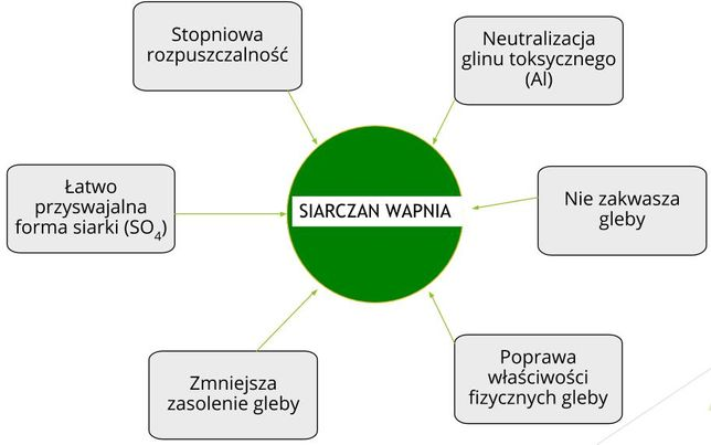 AgroSulCa (siarczan wapnia),Nawóz Siarkowo-Wapniowy