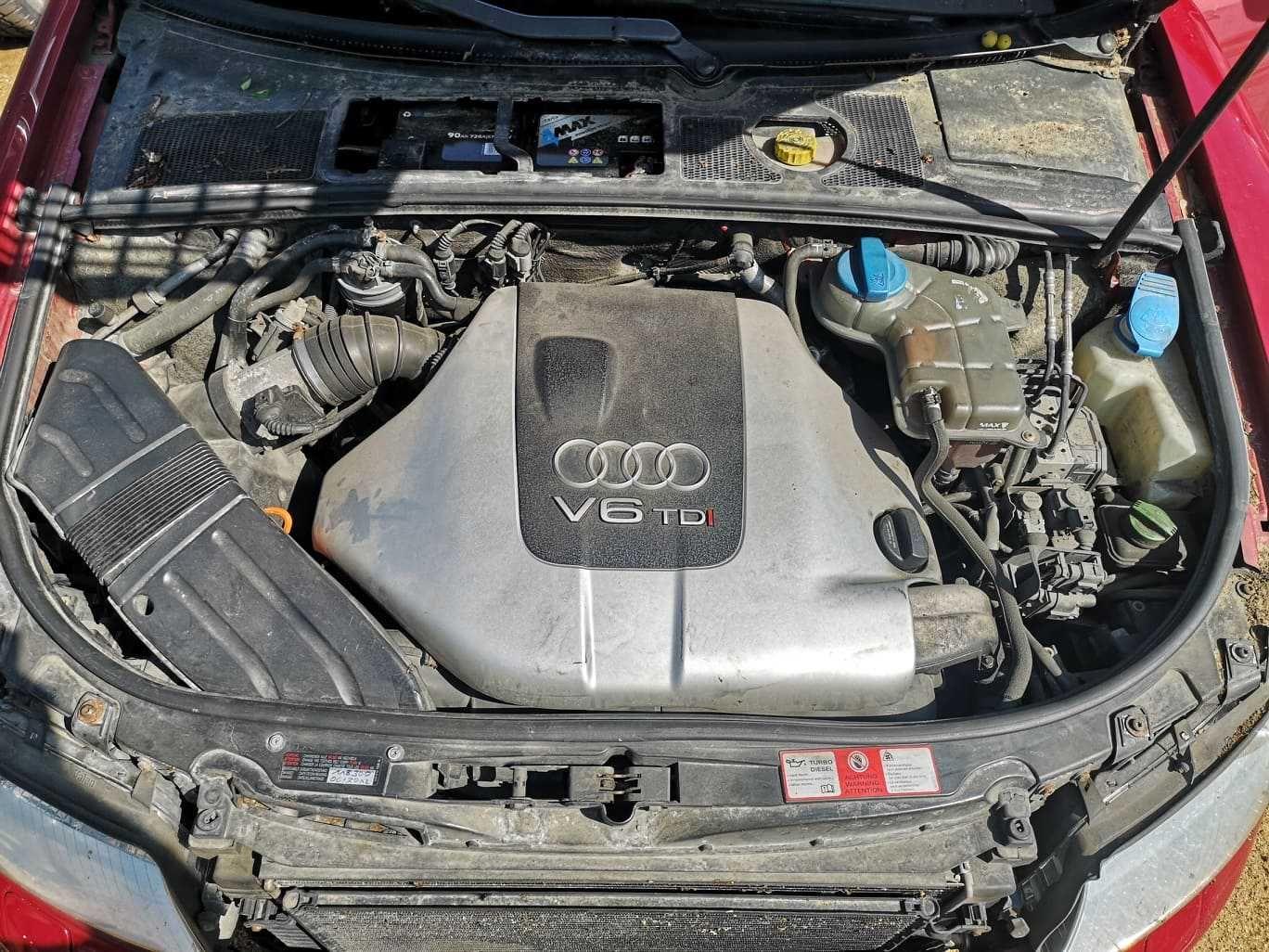 Silnik Audi A4 B6 2.5TDI 180KM AKE w aucie