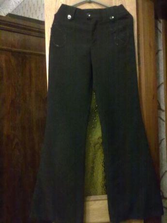 Брюки-штаны (черные) на девочку-подростка