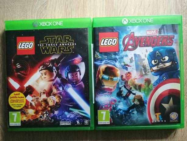Lego Marvel Avengers / Lego Star Wars Gwiezdne Wojny Xbox one pl