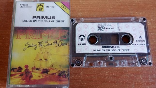 Primus – Sailing The Seas Of Cheese, 1991 KASETA MAGNETOFONOWA