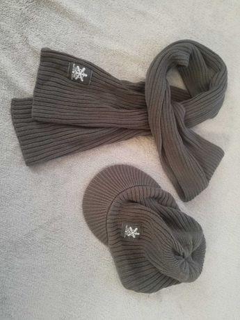 b.p.c chłopięcy komplet czapka + szalik 3-5 lat